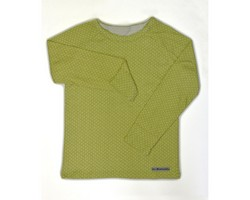 Tee-shirt manche longue vert vue 1_250_200